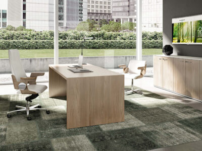 Casa Woodside Executive Desk And Optional Return And Pedestal Main Image