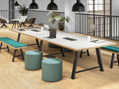 Croyd Rectengular Meeting Table Main Image