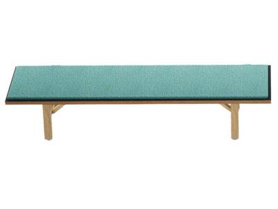 Croyd Wooden Leg Bench