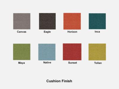 Emerson Cushion Finish