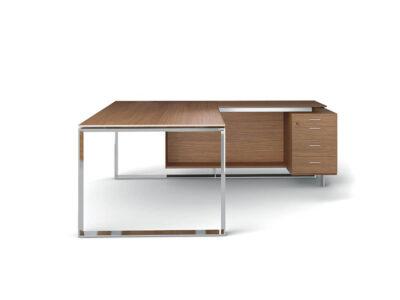 Enrique 1 Sleek Loop Ring Leg Executive Desk1