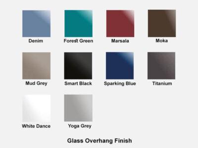 Glass Overhang Finish