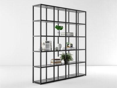 Hype High Aluminium Frame Small Shelves Bookcases Main Image