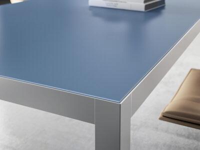 Hype Lacquered Top Executive Desk 1