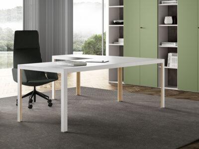 Hype Lacquered Top Executive Desk 2