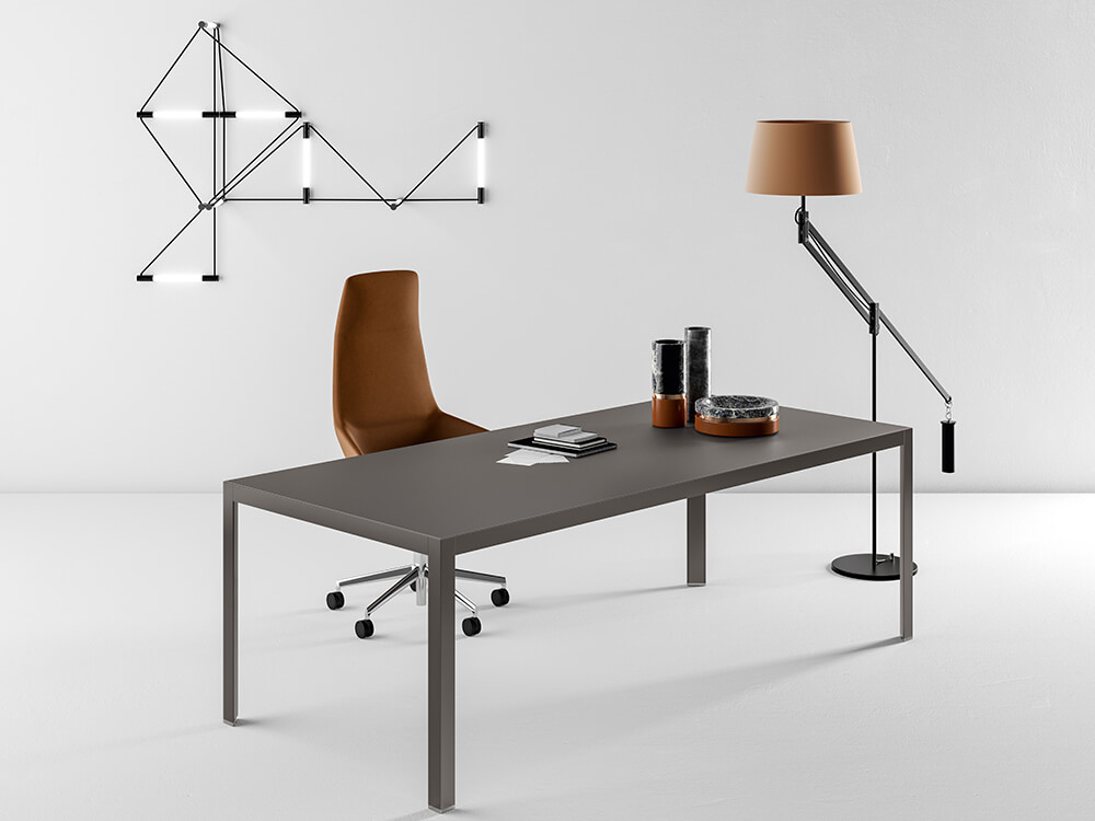 Hype Lacquered Top Executive Deskmain Image