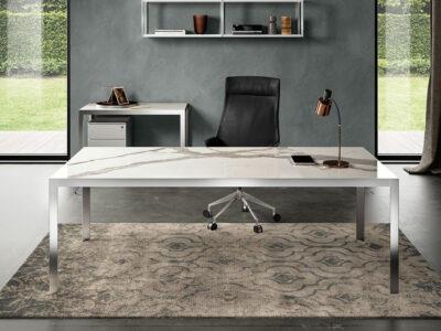 Hype Laminam Top Executive Desk Main Image