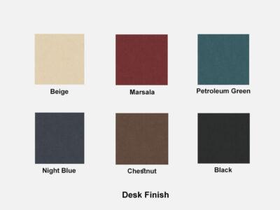 Hype Leather Desk Finish