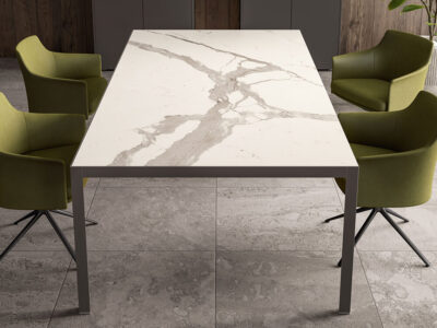 Hype Meeting Table With Laminam Top 1