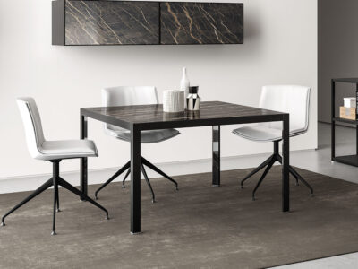 Hype Meeting Table With Laminam Top