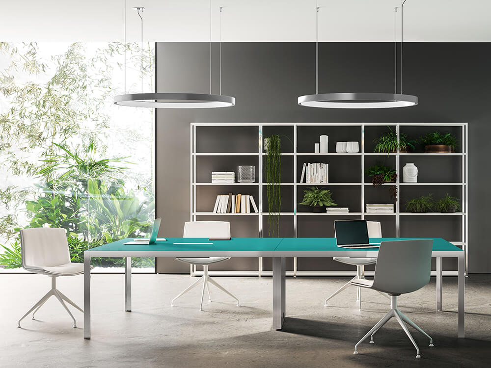 Hype Meeting Table With Lacquered Top Main Image