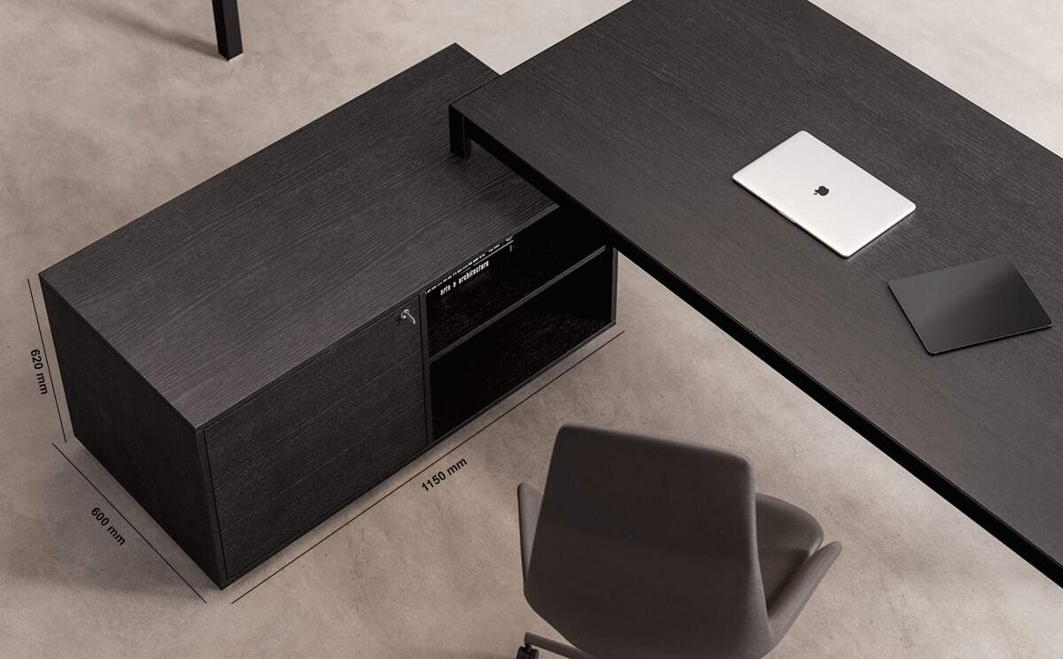 Hype Storage Unit With Plinth Dimension Image