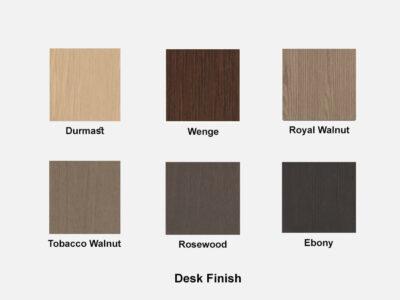 Hype Wood Veneer Desk Finish