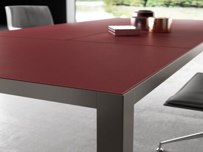 Hype Leather Top Executive Desk 1