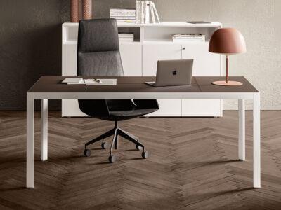 Hype Leather Top Executive Desk