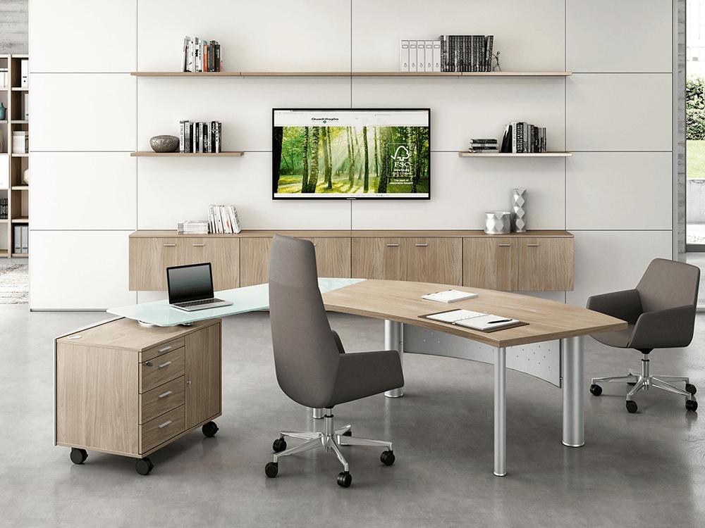 Jenny Radial Corner Desk1