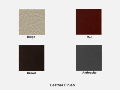 Leather Finish Audrey