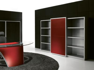 Luna Bookcase With Doors4