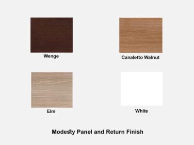 Quadrifolio Modesty Panel And Return Finish