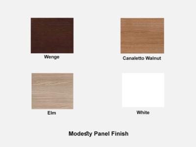 Quadrifolio Modesty Panel Finish