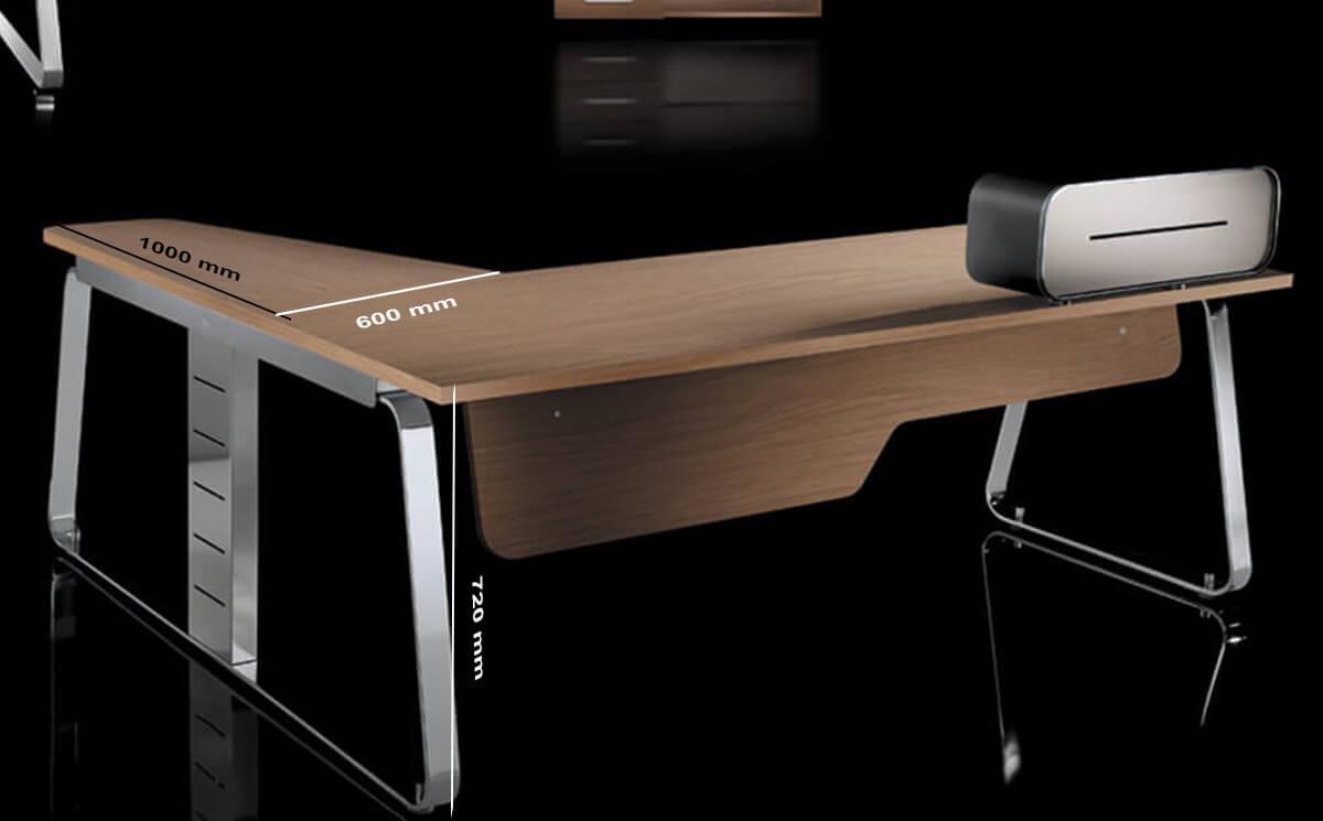 Size Return Audrey Unique & Modern Executive Desk