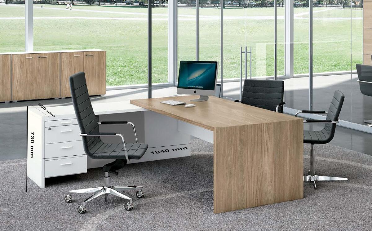 Size Return Casa Woodside Executive Desk And Optional Return And Pedestal
