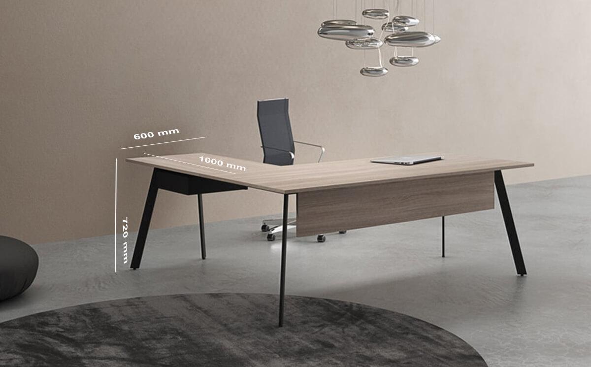Size Return Vince Exclusive Executive Desk