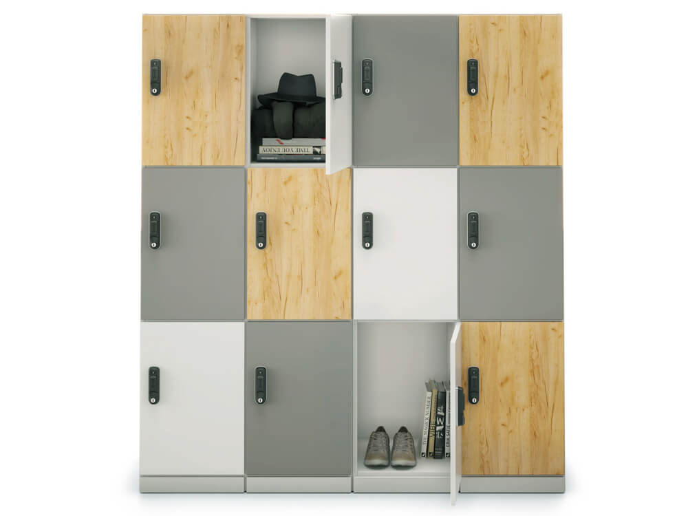 Stor Medium Storage With Double Width 3 Compartment