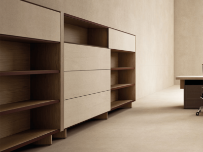 Darcey Bookcase With Sliding Doors4