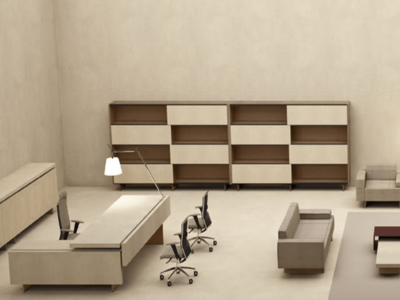 Darcey Bookcase With Sliding Doors5