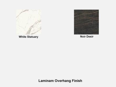 Laminam Overhang Finish