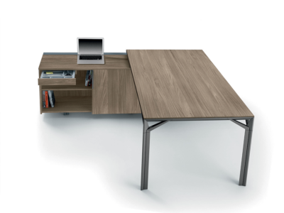 Albero 1 Executive Desk With Three Arm Corner1