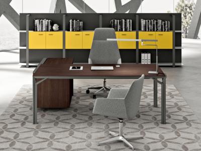 Albero 1 Executive Desk With Three Arm Corner2