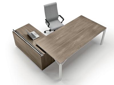 Albero 1 Executive Desk With Three Arm Corner3