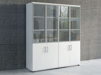 Bella Glass Doors Storage Unit1