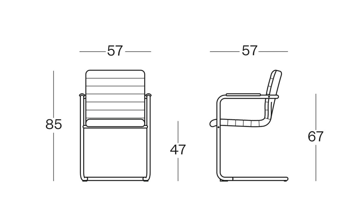 Cantivelter Base Smart – Visitor Chair