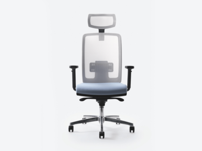 Cometa Mesh Back Operative Chair Witht Headrest 1