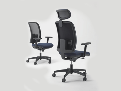 Cometa Mesh Back Operative Chair Witht Headrest