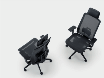 S Mesh Full Mesh Chair With Headrest 1