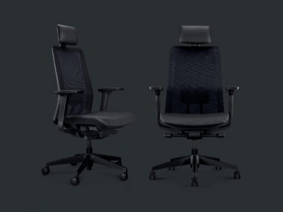 S Mesh Full Mesh Chair With Headrest 2