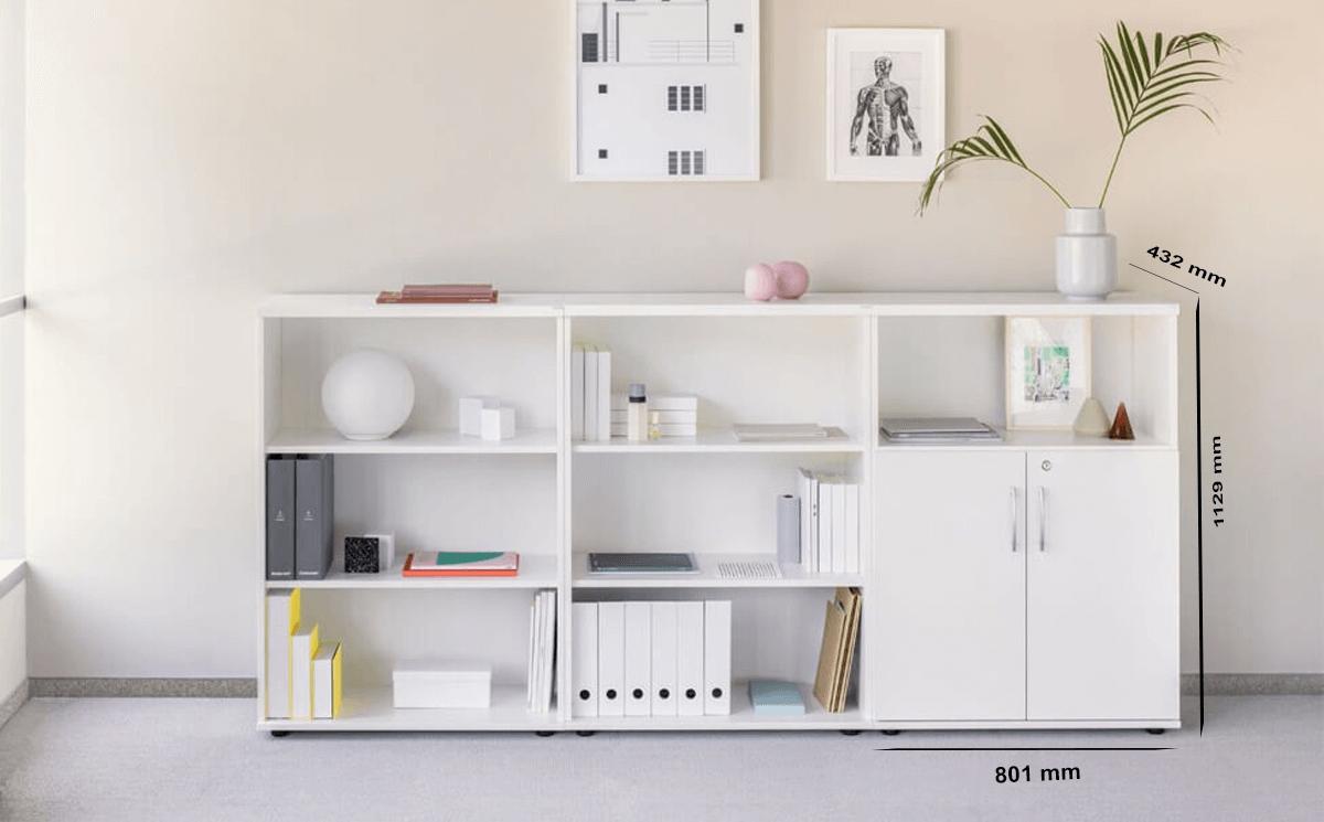 Size Alba Bookcase