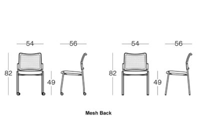 Size(mesh Back) Maia Conference Chair