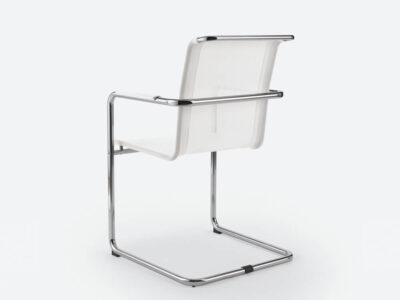 Spin Cantilever Mesh Visitor Chair2