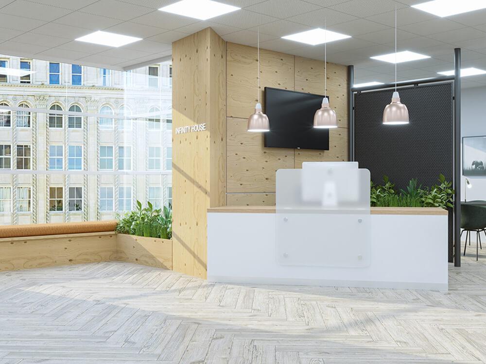 office reception ideas