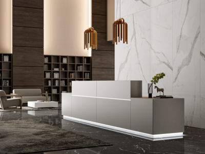 Zo Modern Designer Reception Desk