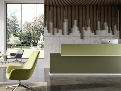 Zo Modern Designer Reception Desk1