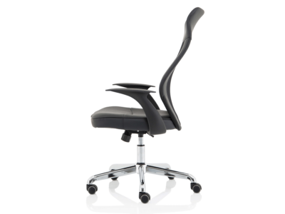 Angelica – Mesh And Leather High Back Operator Chair2