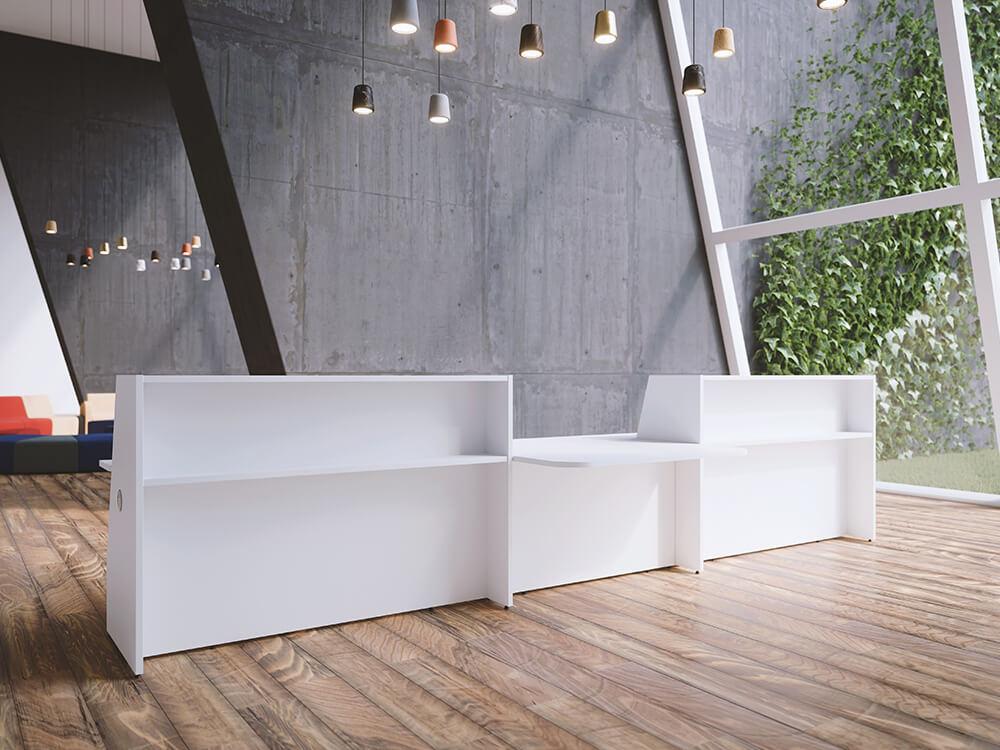 Bienvenue Reception Desks With Dda Approved Wheelchair Access Featured Image
