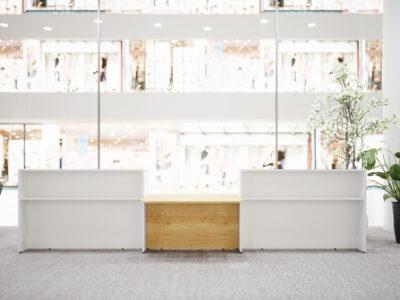 Bienvenue Reception Desks With Dda Approved Wheelchair Access Main Image