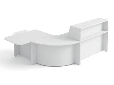 Bienvenue Reception Desks With Optional Corner Unit And Dda Approved Wheelch